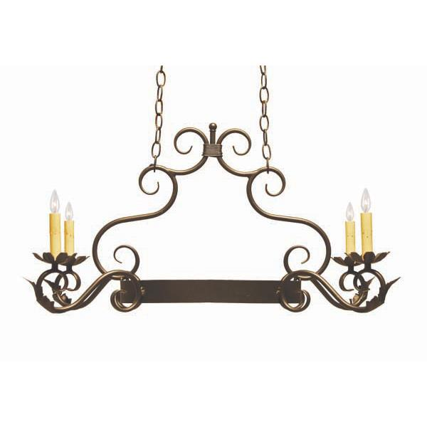 2nd Ave Design 8011.32.ES Eloise Pot Rack in French Bronze
