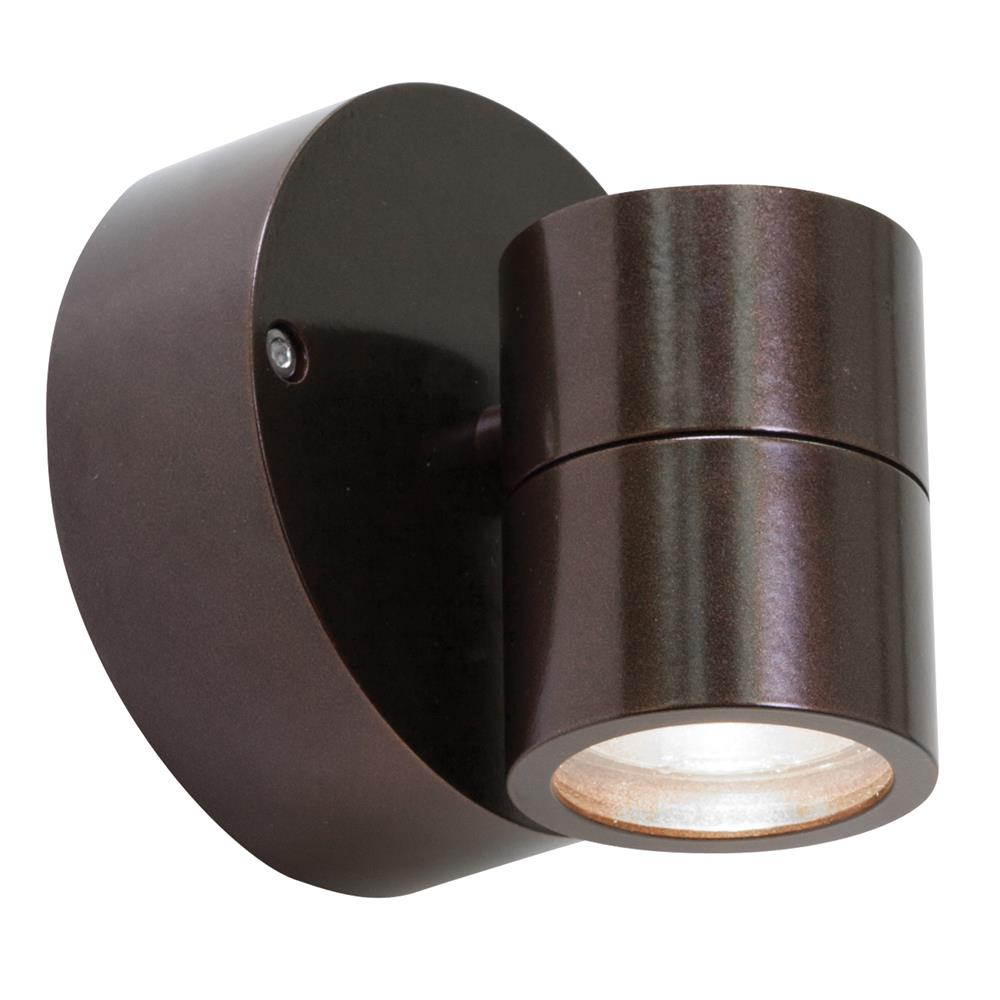 Access Lighting 20350MGLED-BRZ/CLR KO Wet Location Spotlight in Bronze