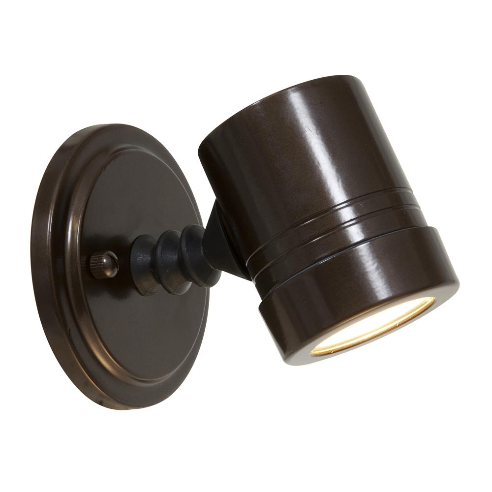 Access Lighting 23025MG-BRZ/CLR Myra Wet Location Adjustable Spotlight in Bronze