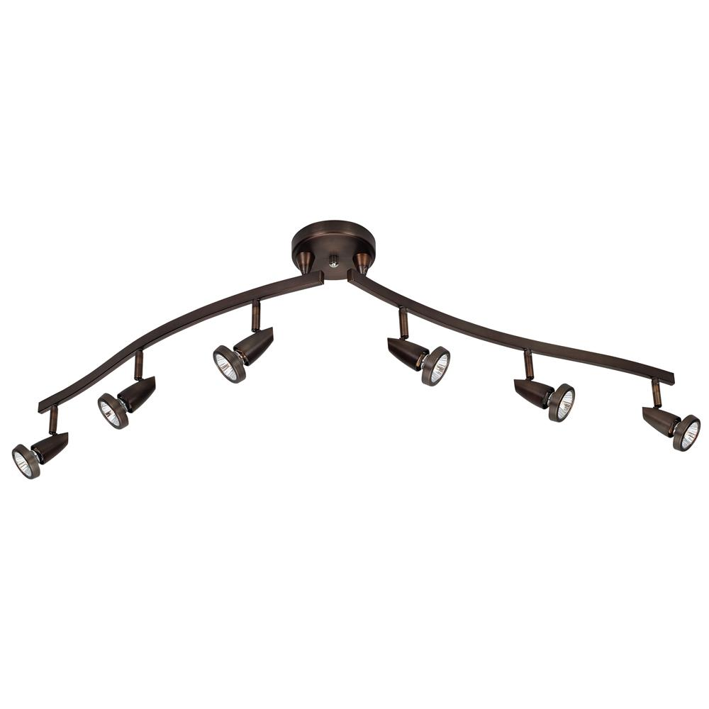 Access Lighting 52226-BRZ Mirage Semi-Flushwith articulating arms in Bronze
