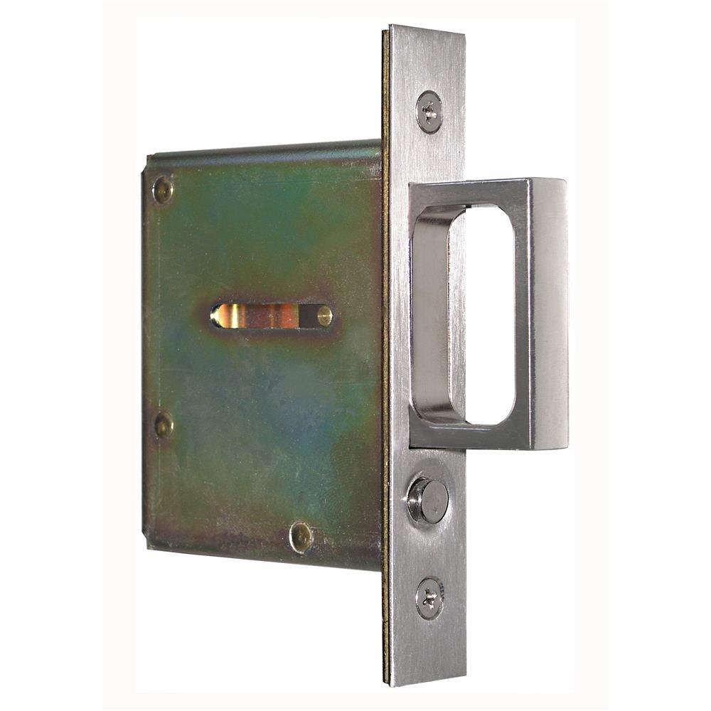 Acorn APMJP Pocket Door Pull, Mortise, Stainless Plate