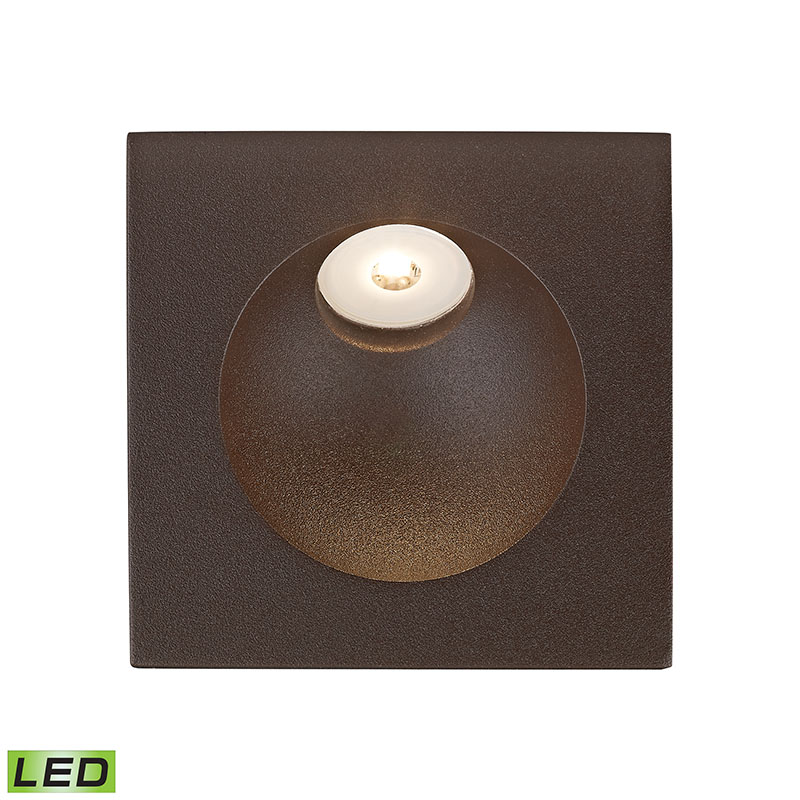 Alico WSL6210-10-45 Zone LED Step Light In Matte Brown