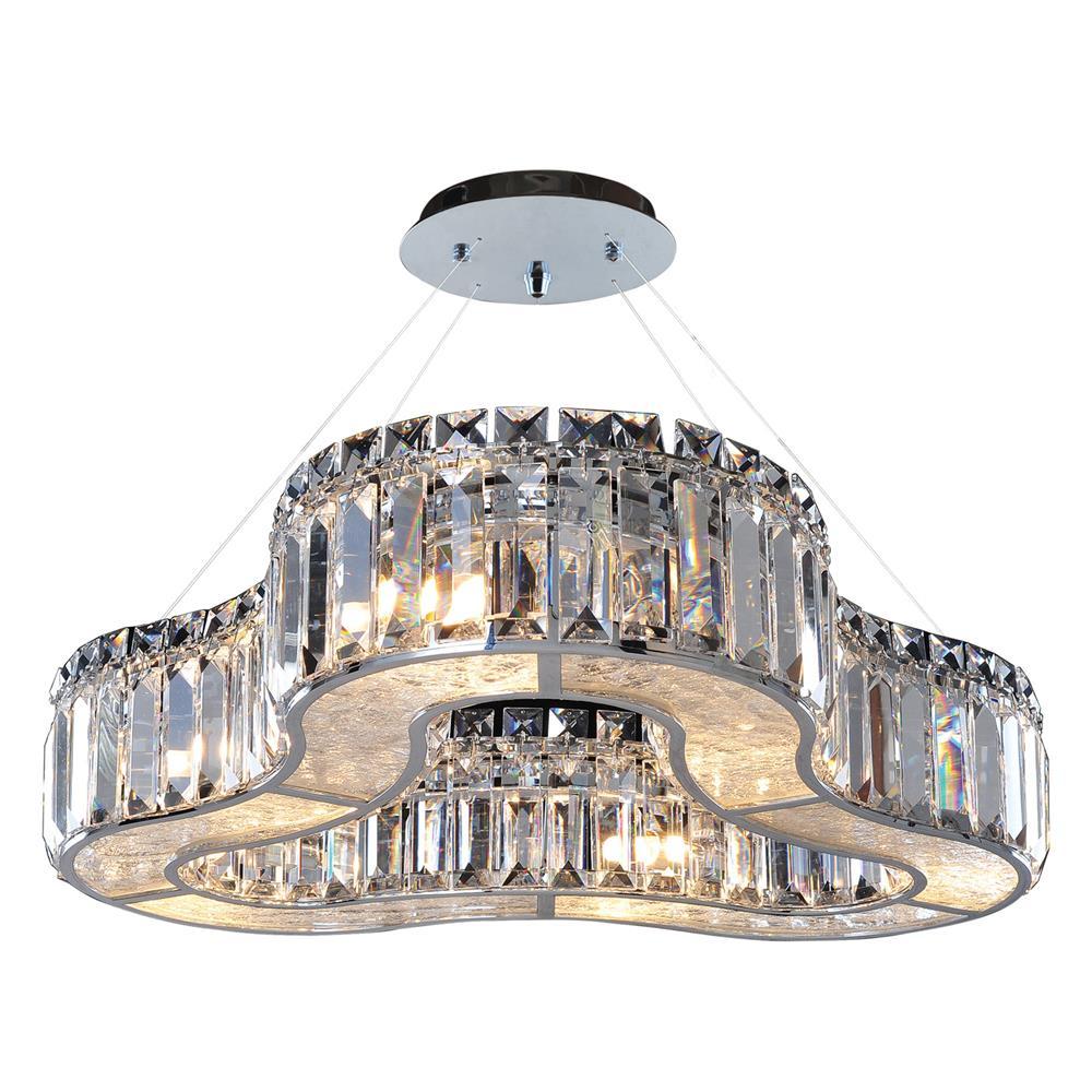 Allegri 11719-010-FR001 6 Light Round Pendant