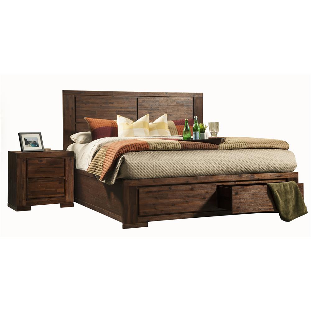 Alpine 8104-21CK Pierre California King Bed