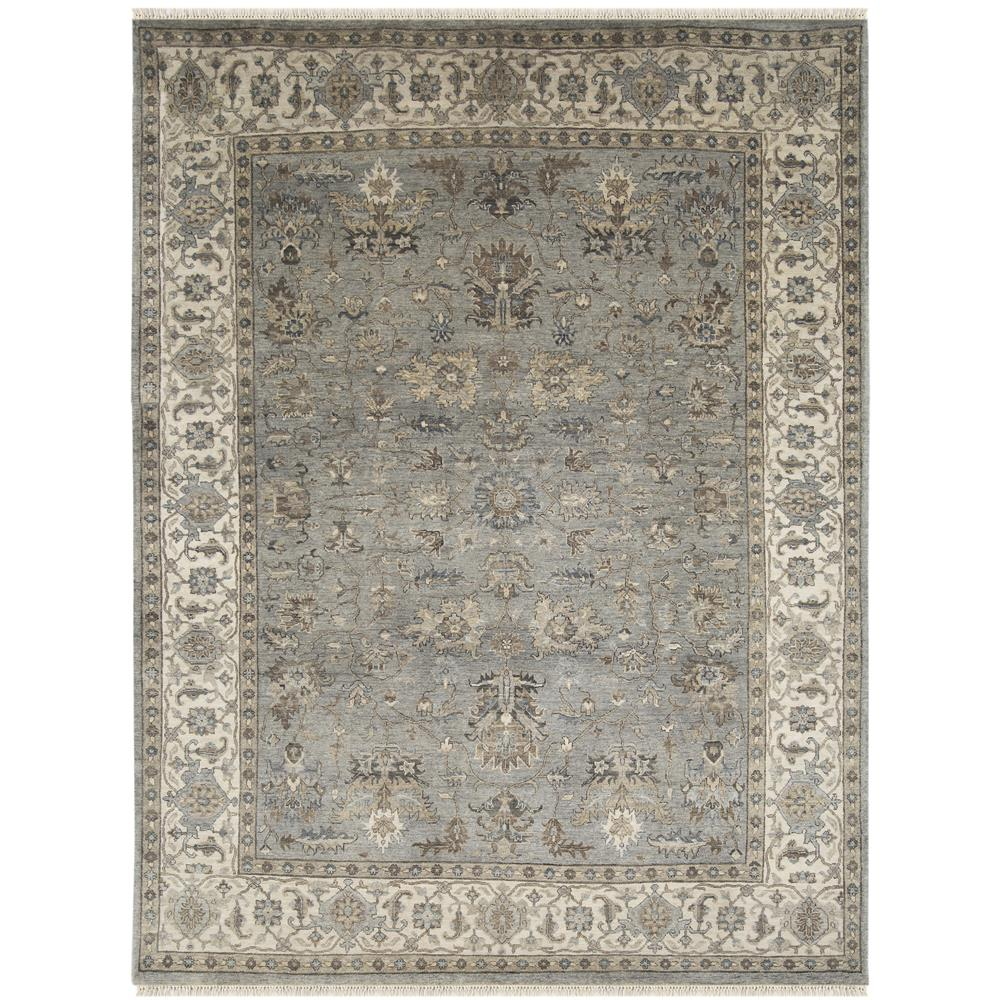 Amer Rugs ANQ110203 Antiquity Traditional Design Hand-Knotted Rug in Gray