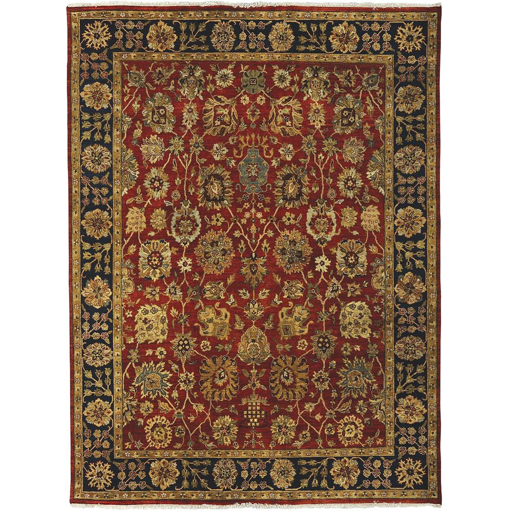 Amer Rugs ANQ90203 Antiquity Traditional Design Hand-Knotted Rug in Rust