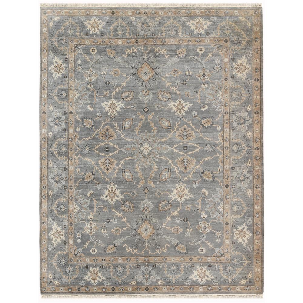 Amer Rugs ARS110203 Artisan Traditional Design Hand-Knotted Rug in Foggy Gray