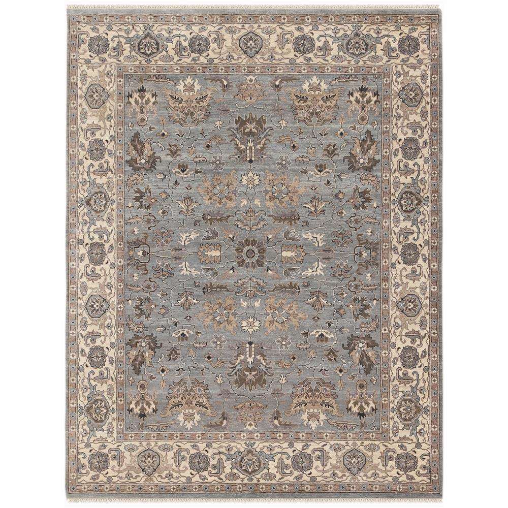 Amer Rugs ARS120203 Artisan Traditional Design Hand-Knotted Rug in Gray