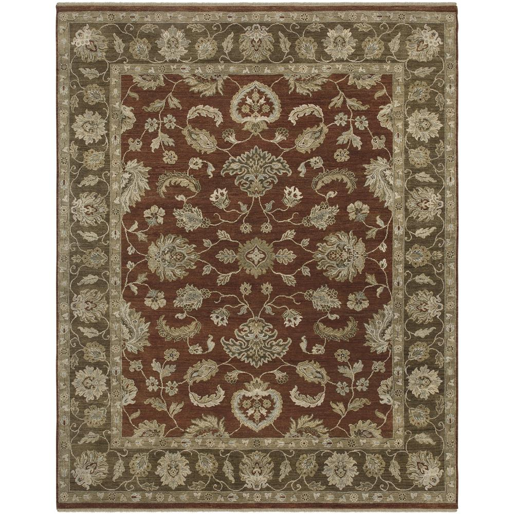 Amer Rugs ARS80203 Artisan Traditional Design Hand-Knotted Rug in Red
