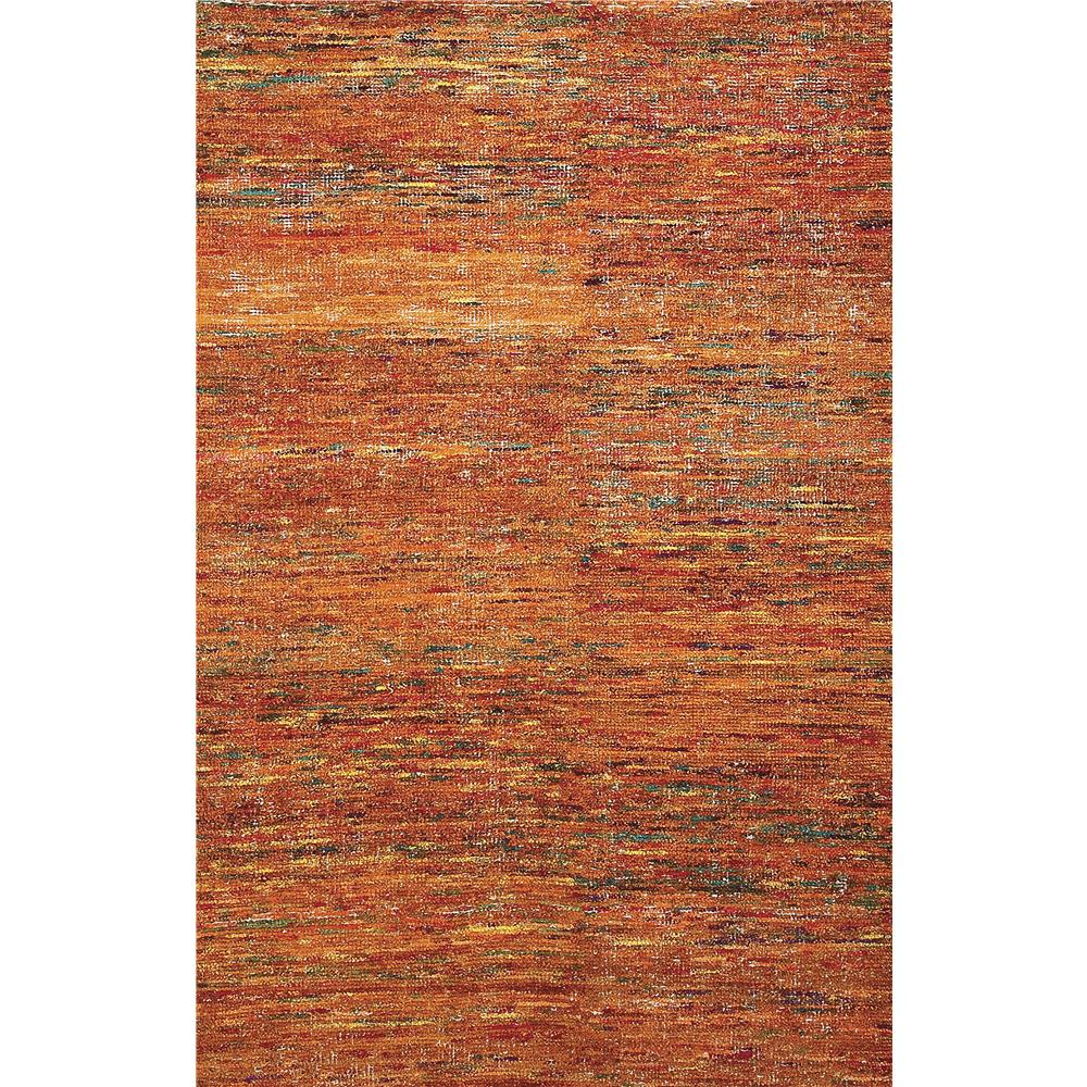 Amer Rugs CHI20203 Chic Modern Design Hand-Woven Rug in Orange