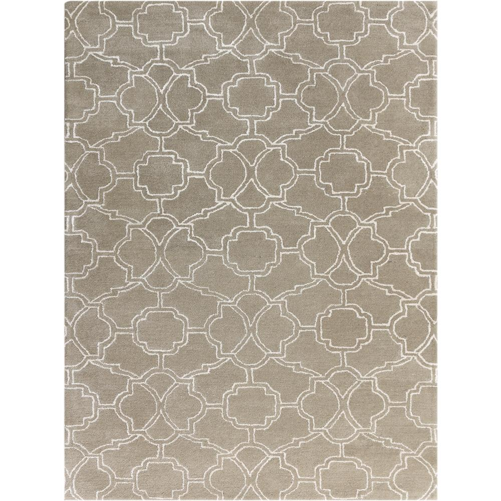 Amer Rugs CIT30203 City Modern Design Hand-Tufted Rug in Sand