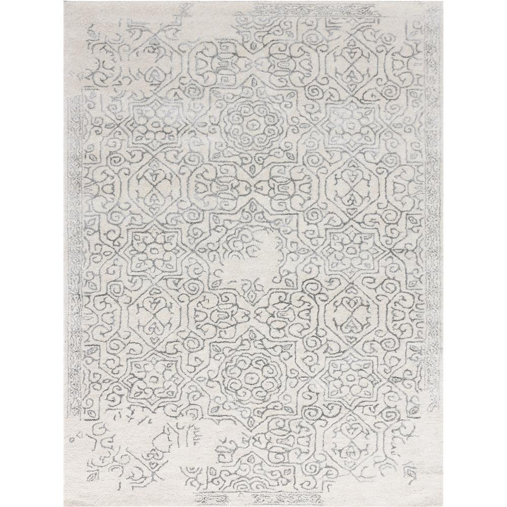 Amer Rugs SND58I0203 Serendipity Modern Design Hand-Tufted Rug in Iron
