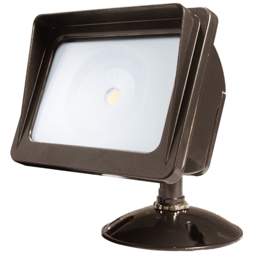 American Lighting Wall Pack COB Flood Light, 3000K, 30 Watts, Dark Bronze Finish