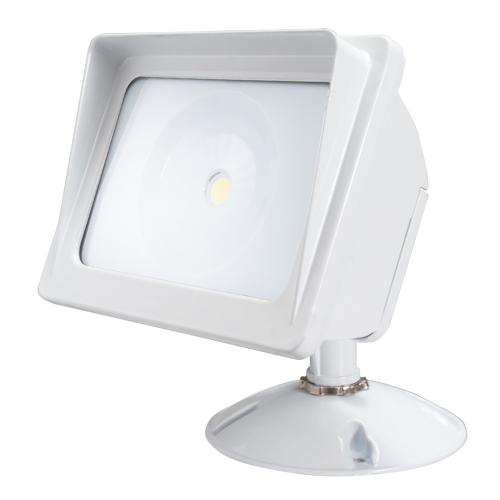 American Lighting ALV2-30WF-WH Panorama Sunset Wall Pack Cob LED Flood Light, White
