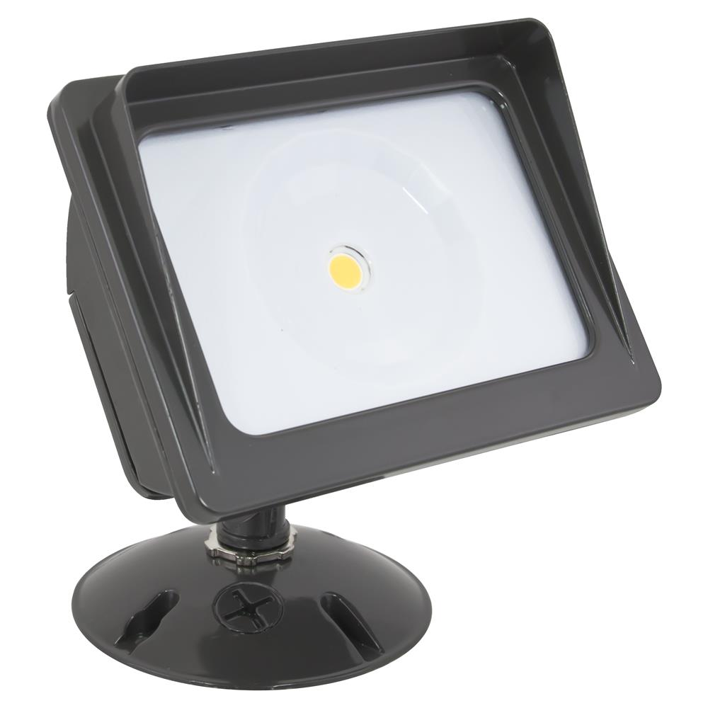 American Lighting Wall Pack COB Flood Light, 3000K, 21 Watts, Dark Bronze Finish