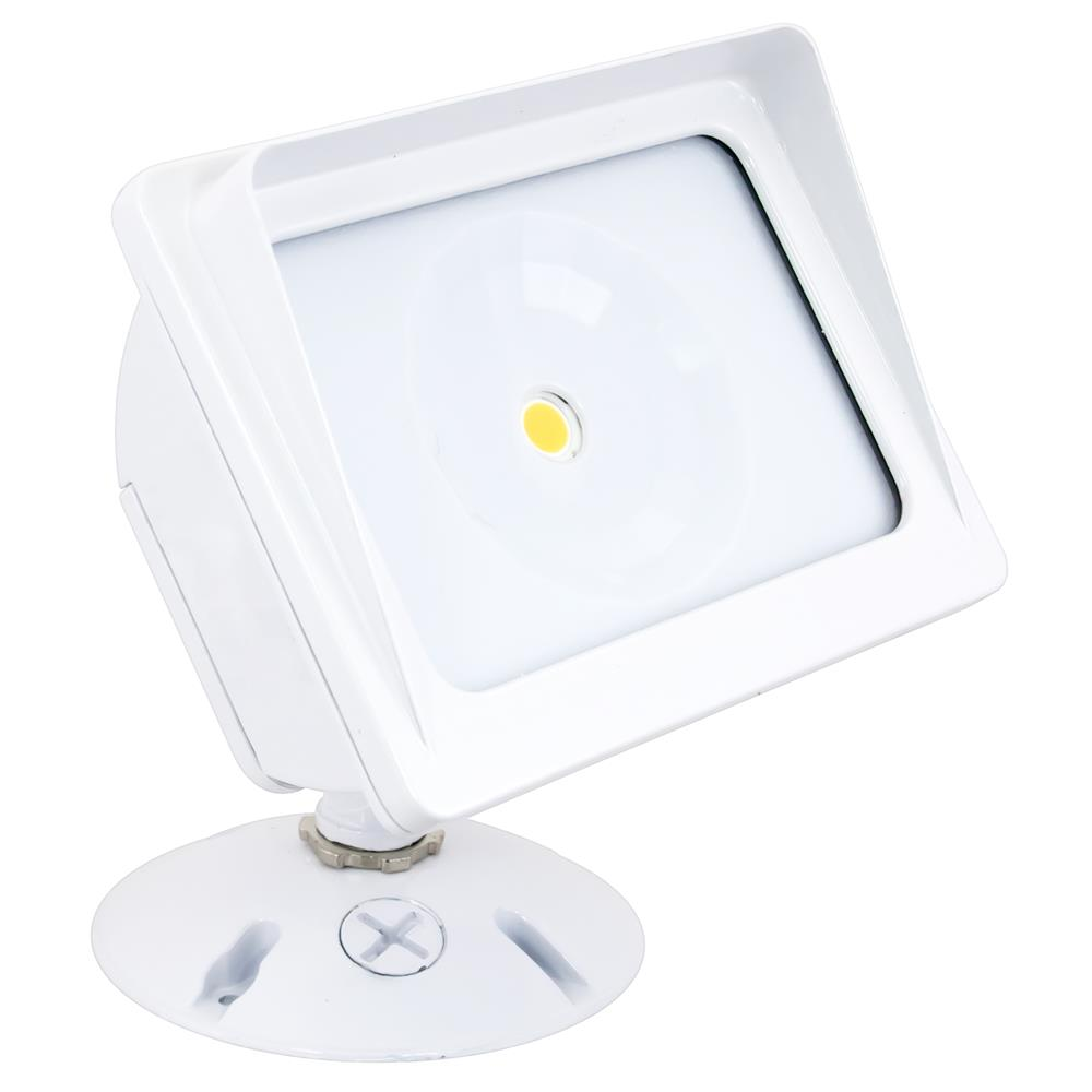 American Lighting Wall Pack COB Flood Light, 3000K, 21 Watts, White Finish