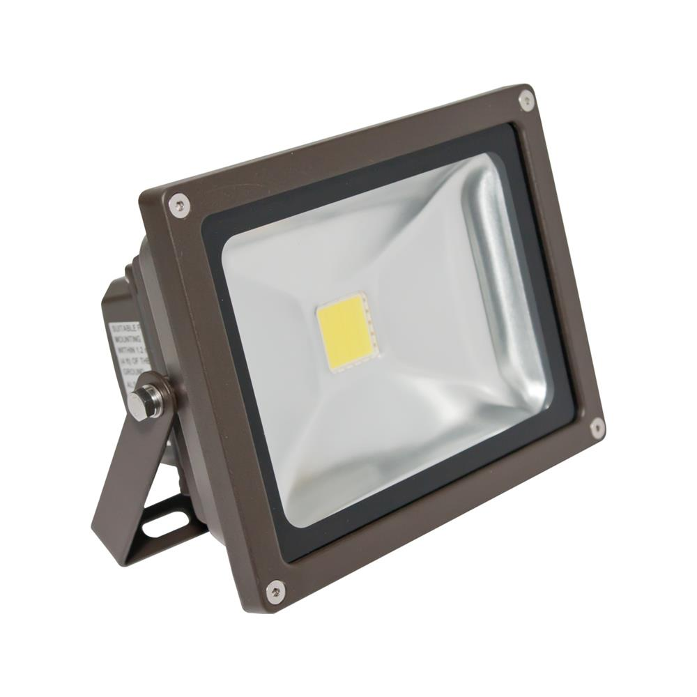 American Lighting Panorama PRO 201, 25 Watt,  4500K, Dark Bronze, Flood Light