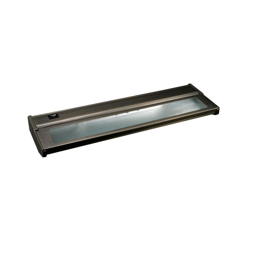 lighting dark bronze 16 inch two light xenon under cabinet light. Black Bedroom Furniture Sets. Home Design Ideas
