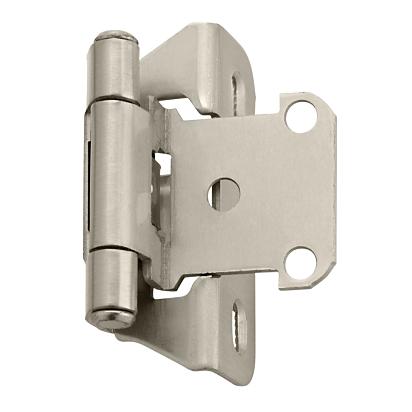 Amerock BP7566G10 Self-Closing Hinge in Satin Nickel