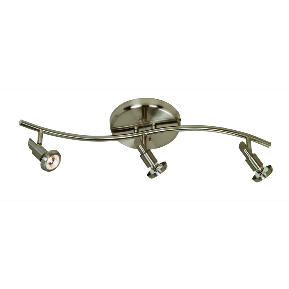 Artcraft AC5833BN Shuttle Collection Track in Brushed Nickel