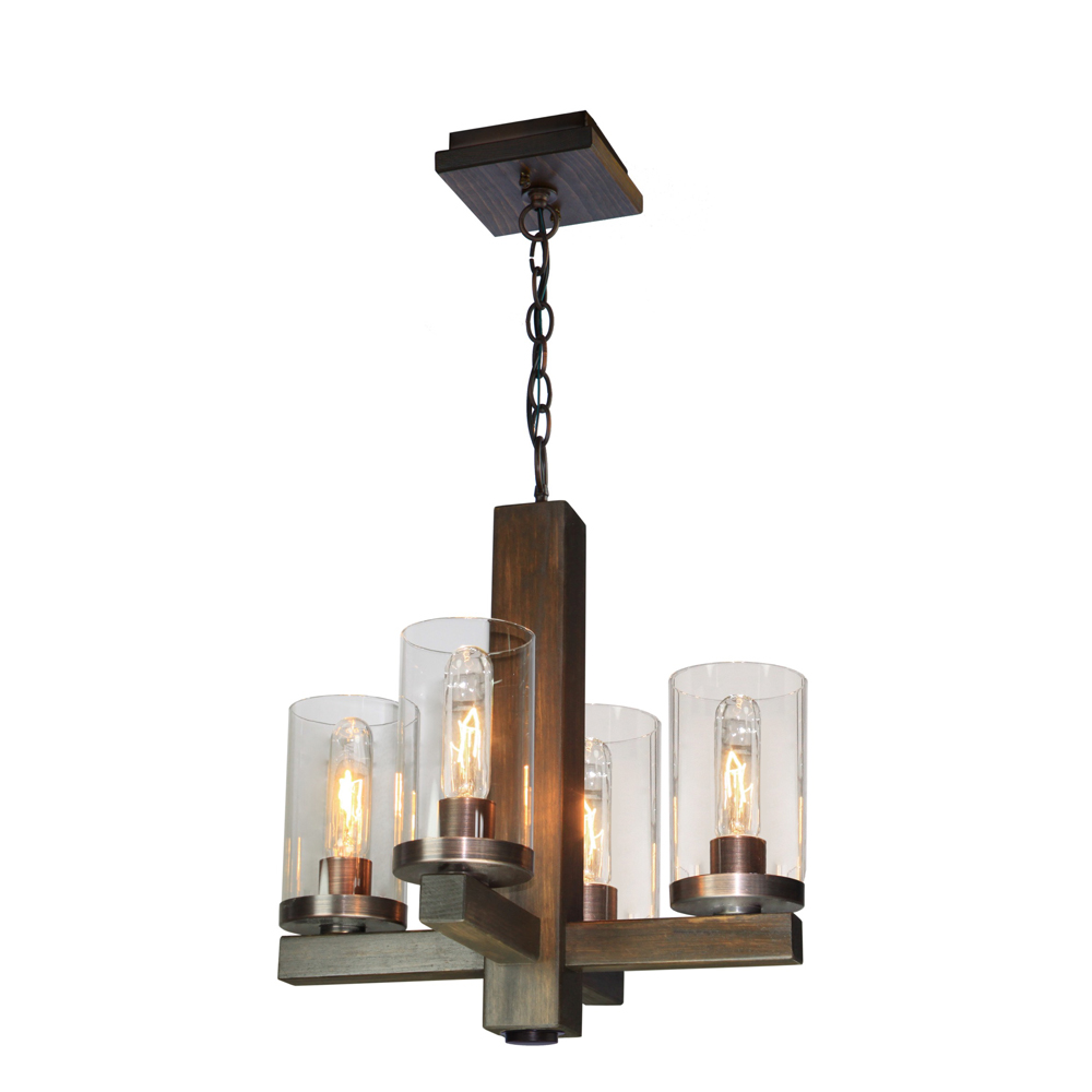 Artcraft Lighting AC10544BU Jasper Park Chandelier