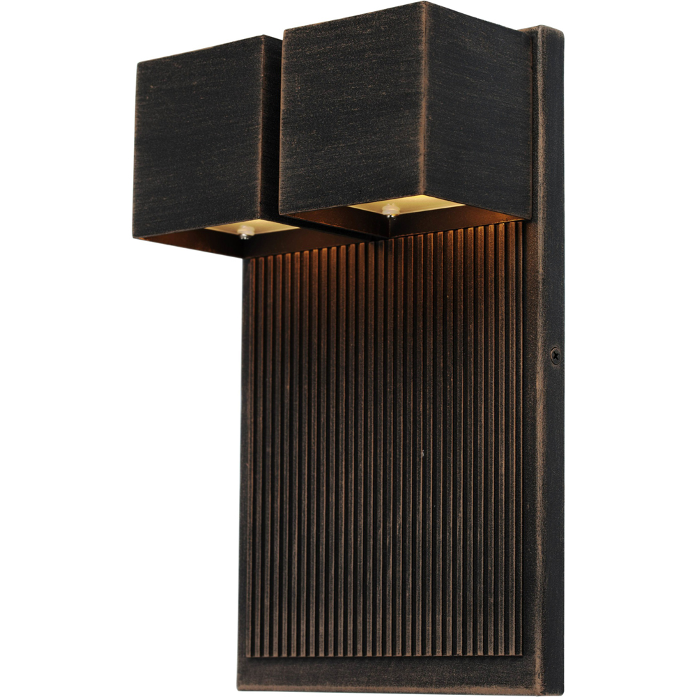 Artcraft Lighting AC9032OB Fontana 2 Light Outdoor Wall Light in Oil Rubbed Bronze