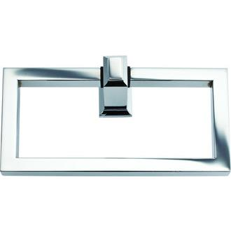 Atlas Homewares SUTTR-CH Sutton Place Towel Ring in Polished Chrome