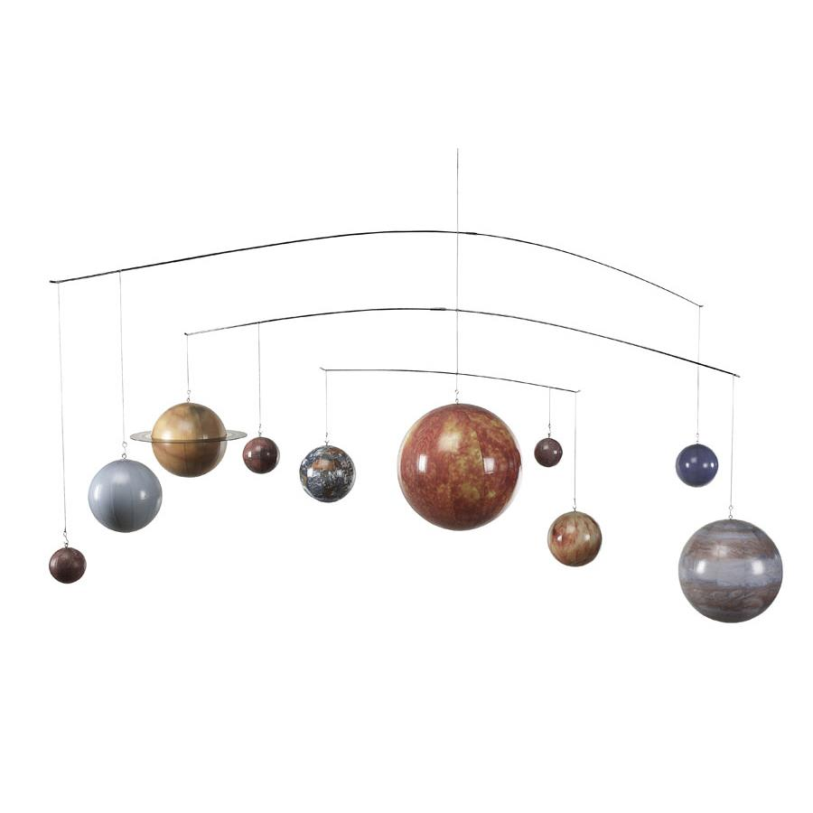 Authentic Models GL061 Mobile Solar System in Multi-Colored