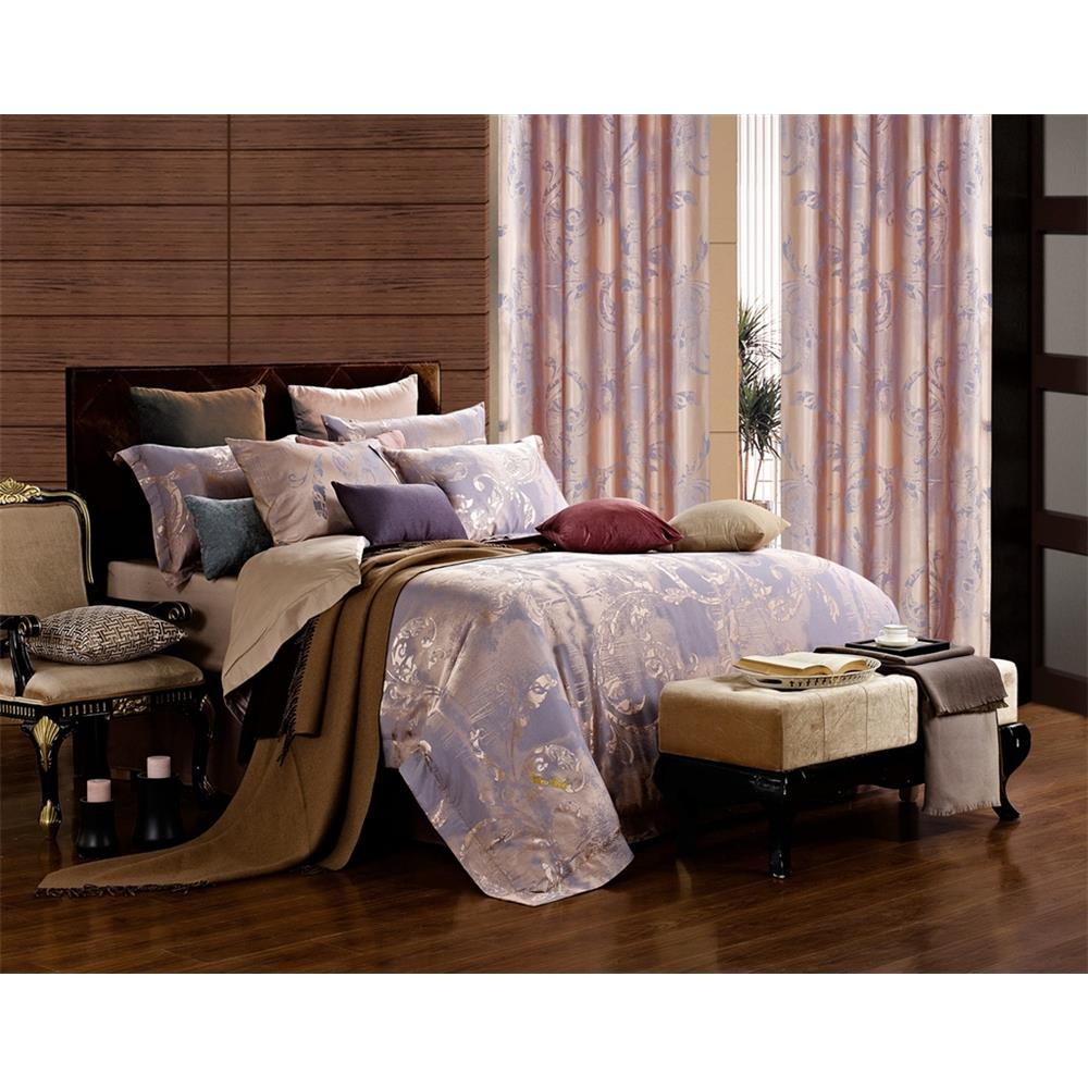 Dolce Mela DM475Q Queen Size Duvet Cover Set, Pandora