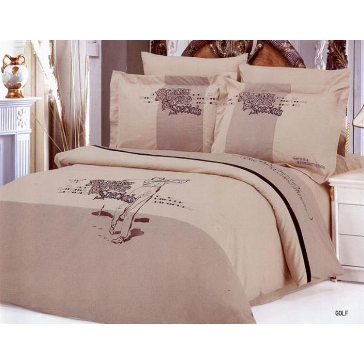 Le Vele LE130Q Full/Queen Size Duvet Cover Set, Golf