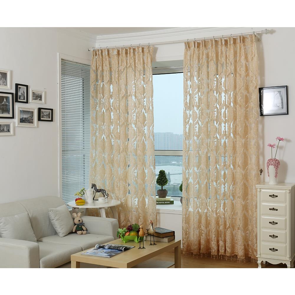 Dolce Mela DMC475 Rome Sheer Curtain Panel