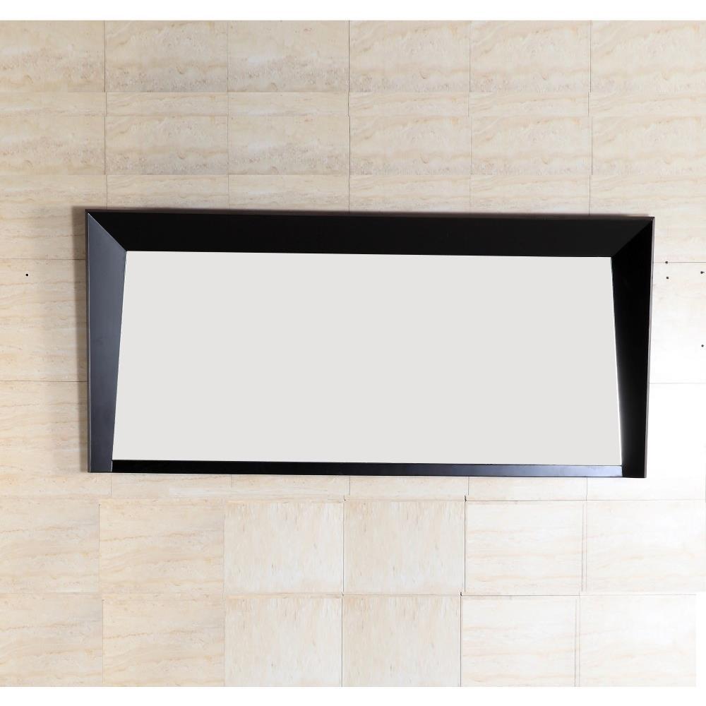 Bellaterra Home 500410-MIR-ES-60 Wood Frame Mirror