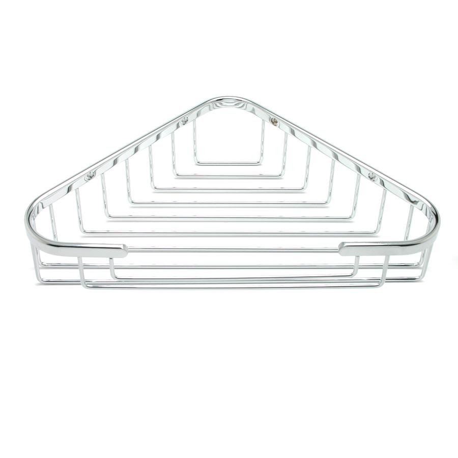 R. Christensen by Berenson Hardware 5317US26 Corner Shower Basket Polished Chrome