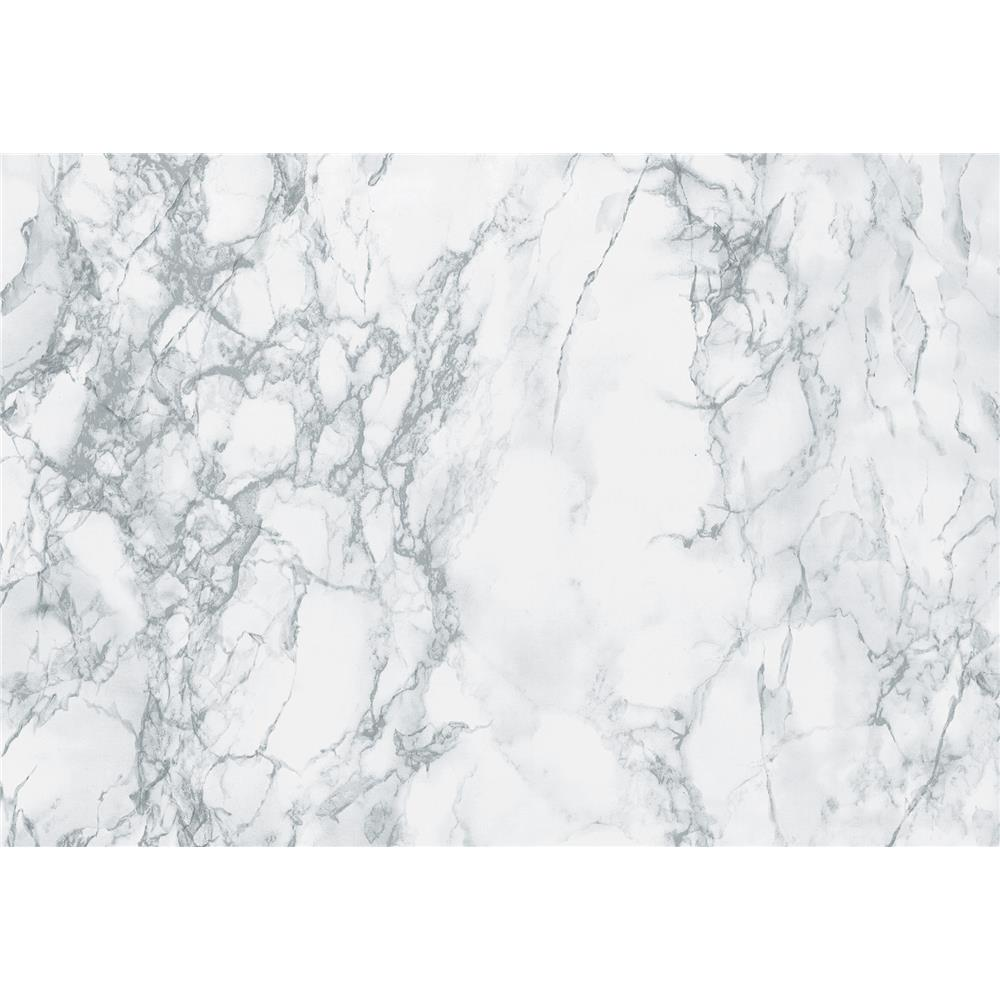 DC Fix by Brewster 346-0306 DC Fix Gray Marble Adhesive Film