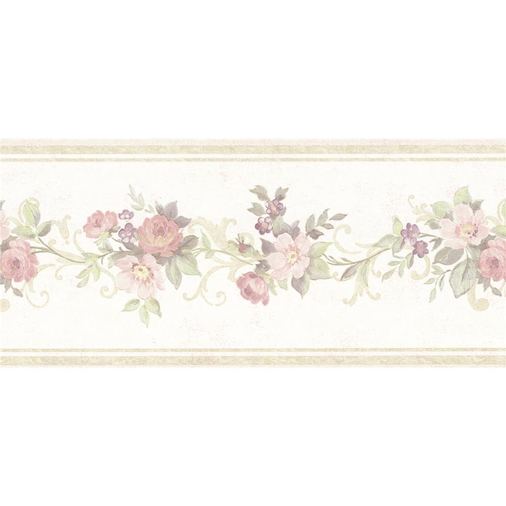 brewster wallpaper borders book name vintage rose
