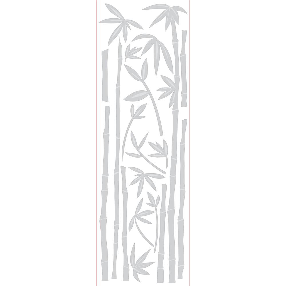 Brewster 99761 Bamboo Etched Glass