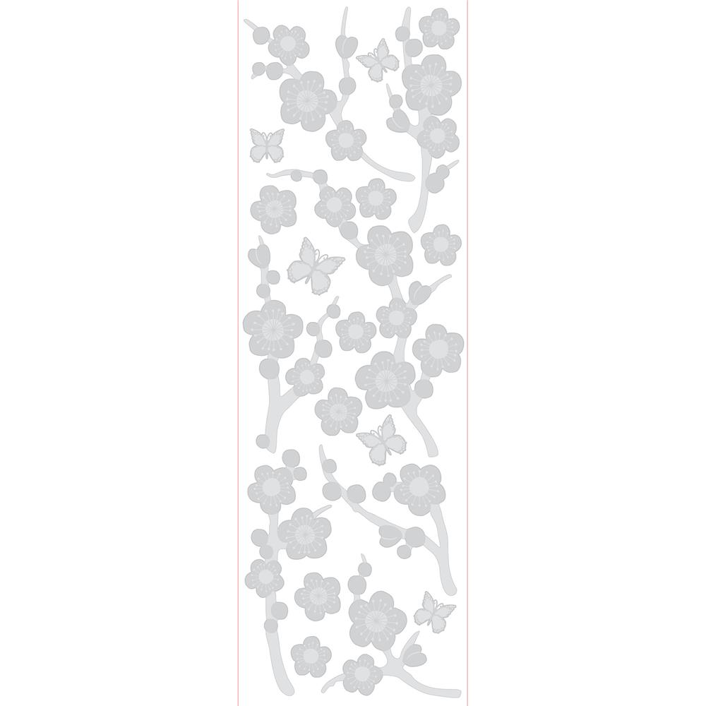 Brewster 99764 Blossom Etched Glass
