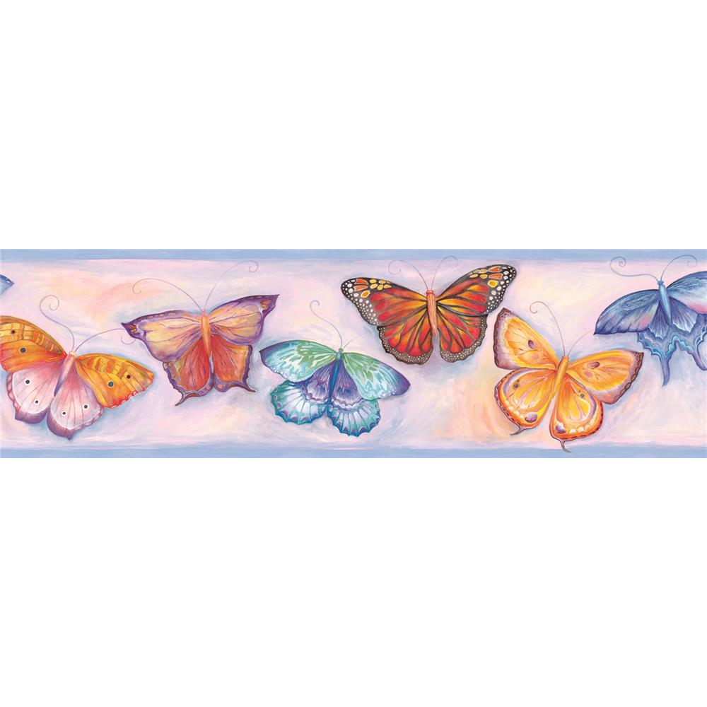 Butterfly blessings wallpaper border many hd wallpaper for Butterfly wallpaper border