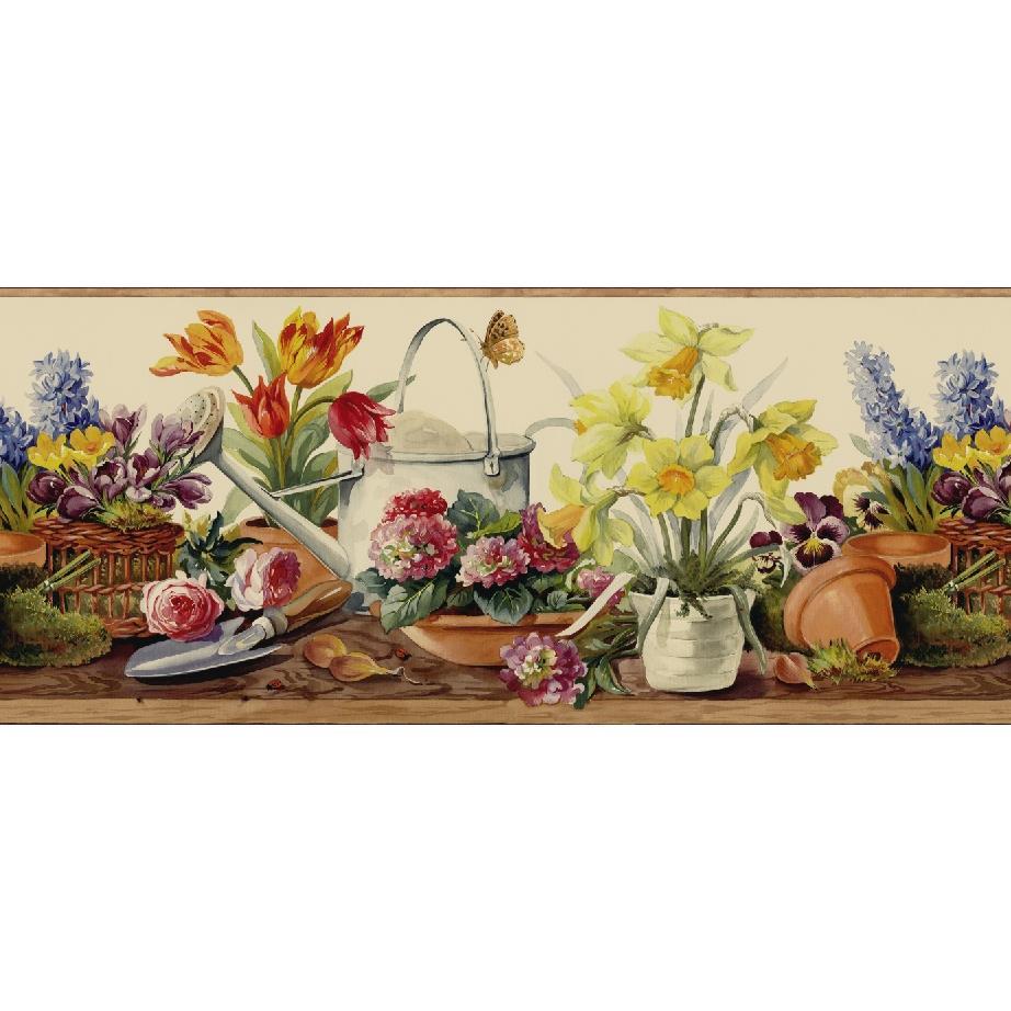 Kitchen Wallpaper Border: Brewster Book Name: Kitchen; Bed; & Bath, Type: Wallpaper