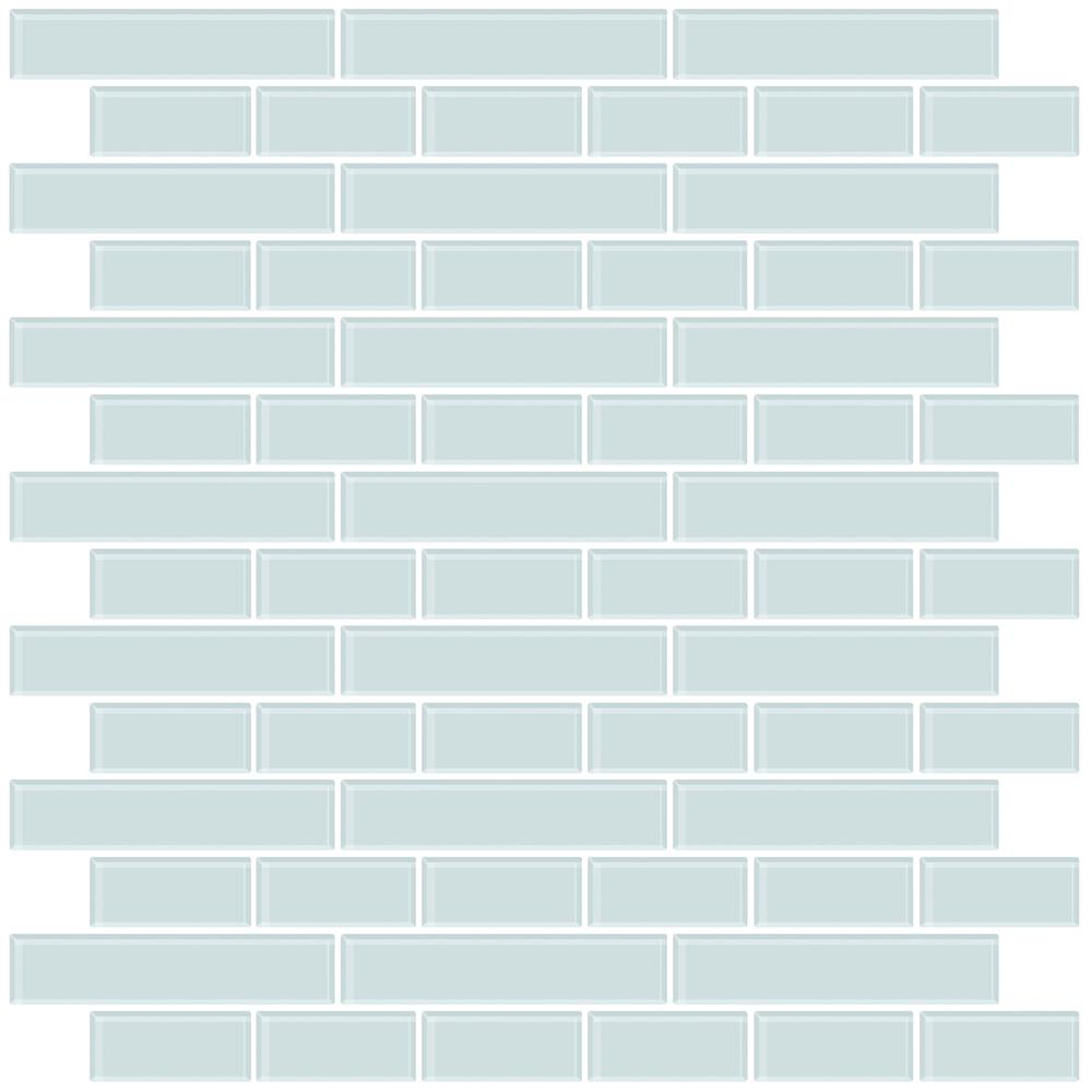 InHome by Brewster NH2361 Sea Glass Peel & Stick Backsplash Tiles