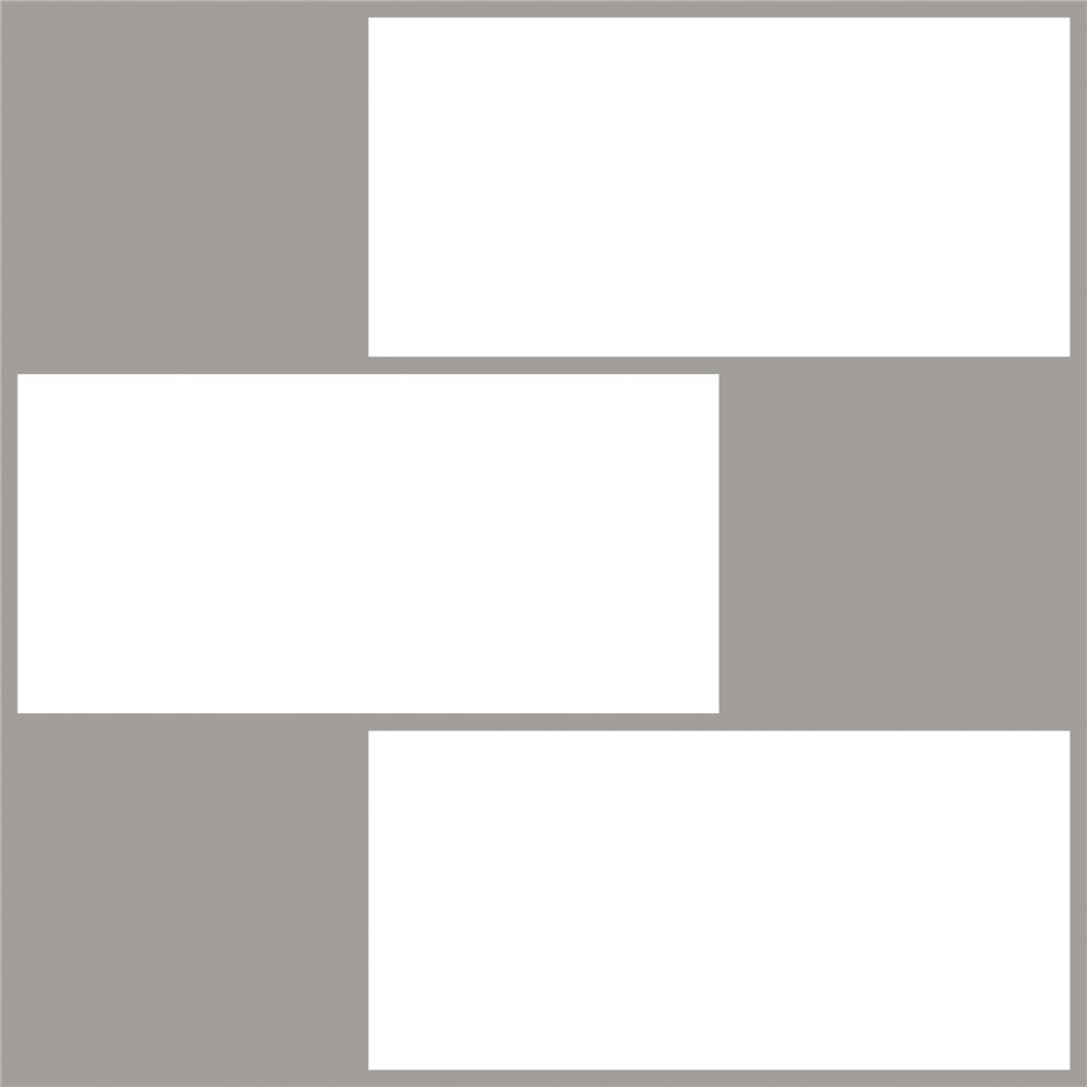 InHome by Brewster NH2363 Subway Peel & Stick Backsplash Tiles