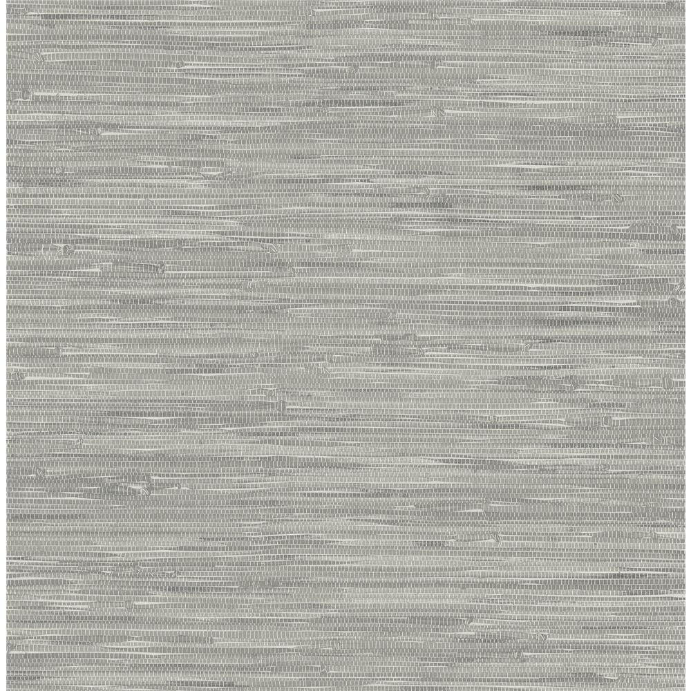 NuWallpaper by Brewster NU2083 Tibetan Grasscloth Peel and Stick Wallpaper