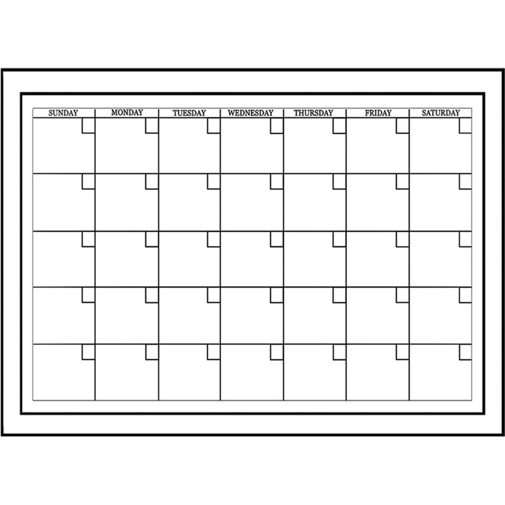 WallPops by Brewster WPE94575 Dry Erase Whiteboard Monthly Calendar Decal