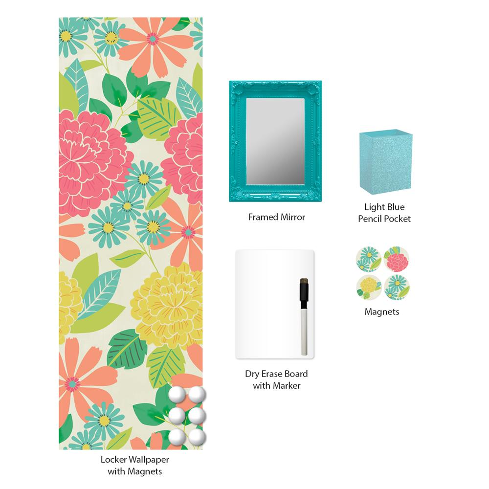 WallPops by Brewster WPL2297 Kauai Locker Kit
