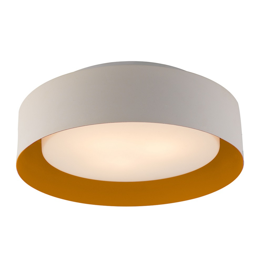 Ceiling Lights B And M : B o bromi design lynch white orange flush