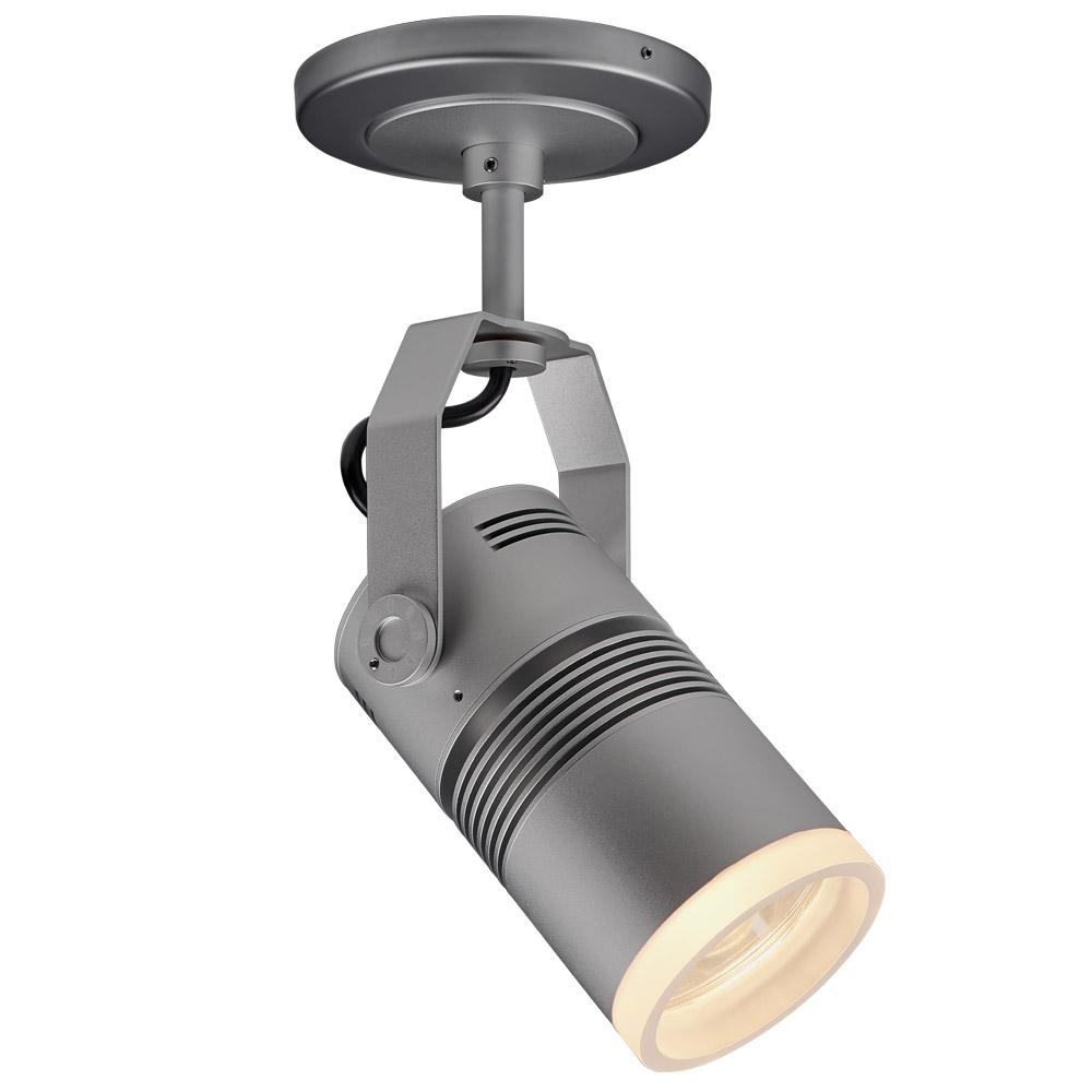 "Bruck Lighting 137420XTM19/11LM/30K/95/DA40/120/ELV/MC/5/CRO Z15 - Spot Light with Canopy - LED - 5"" Stem - 40-Degree Diffuse Reflector - Corona Ring Lens - 95 CRI/3000K/935lm - Matte Chrome Finish"
