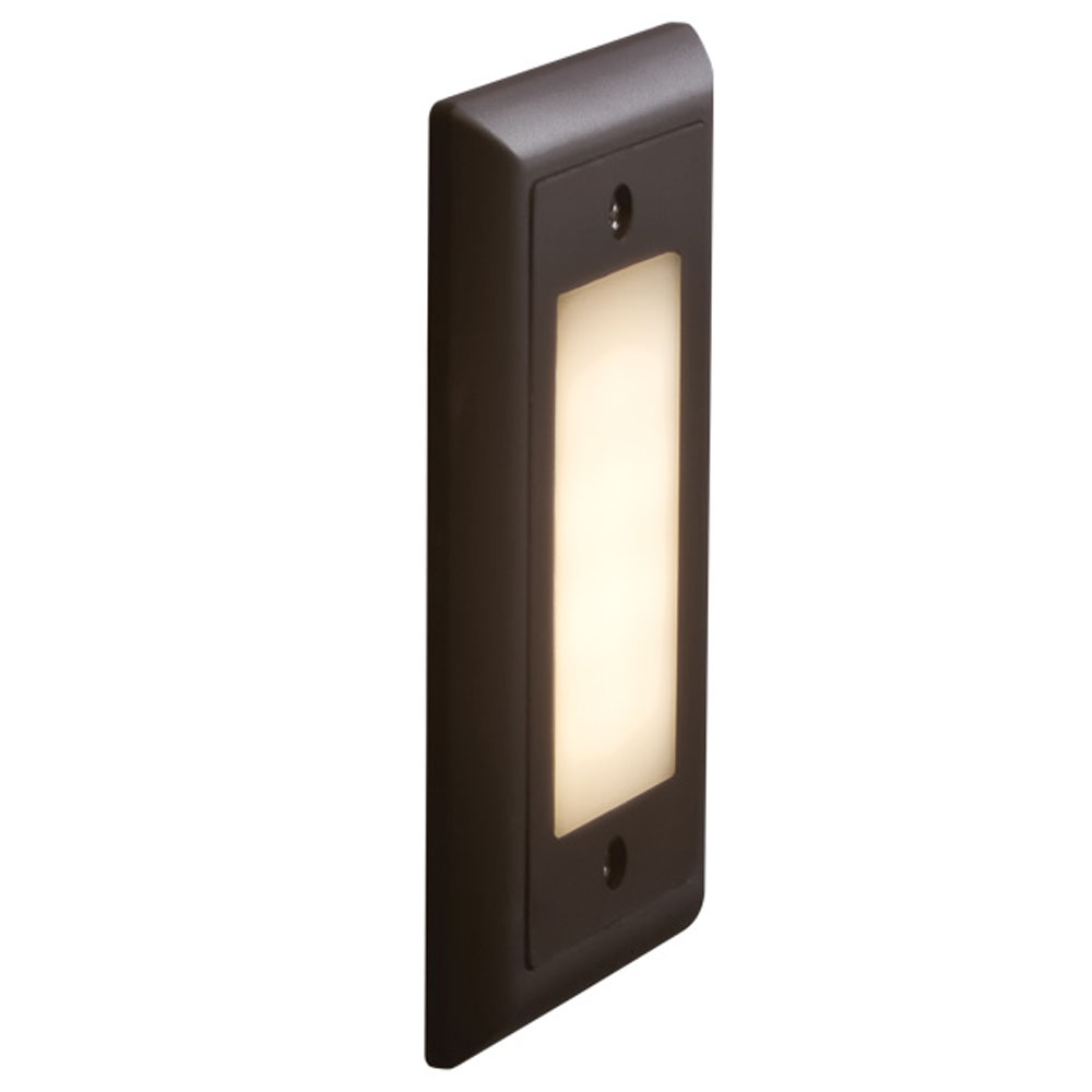 Bruck Lighting 138021bz/3/f Step 1 - Step Light - LED - Opal Lens - 3000K - Bronze Finish