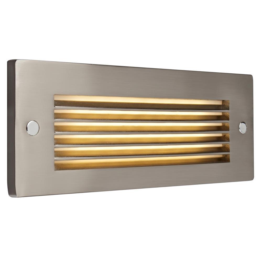 Bruck Lighting 138022bz/3/hl Step 2 - Step Light - LED - Horizontal Louver - Bronze Finish