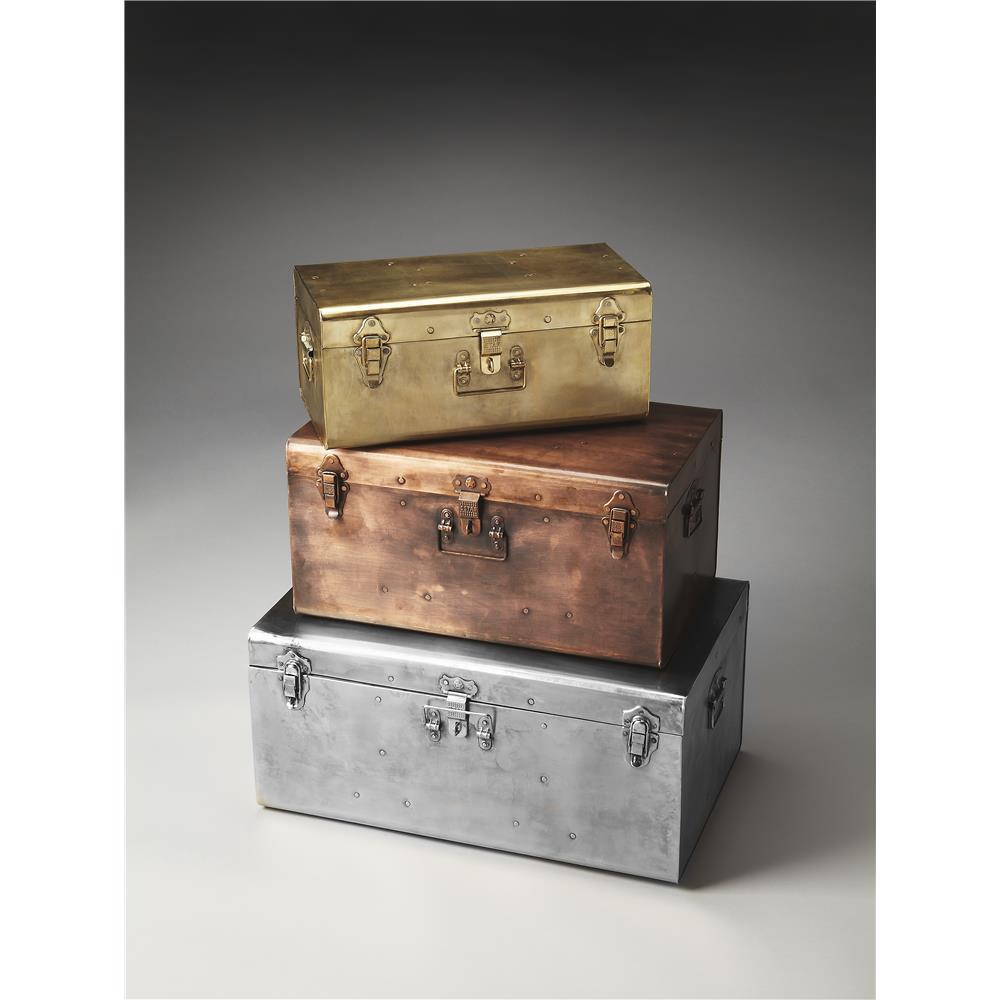 Butler Specialty 2744016 SPIRIT Butler Spirit Iron Storage Trunk Set