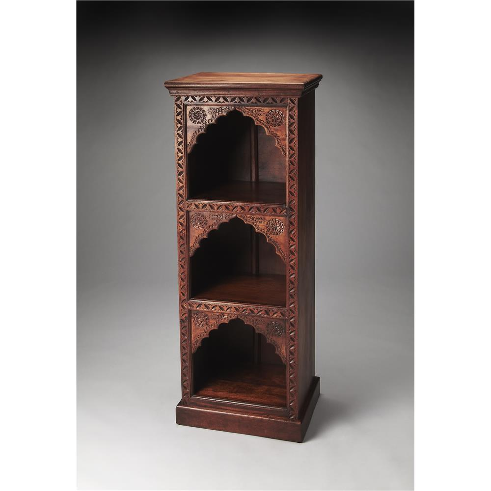 Butler Specialty 3388290 MIHRAB Butler Mihrab Solid Wood Bookcase